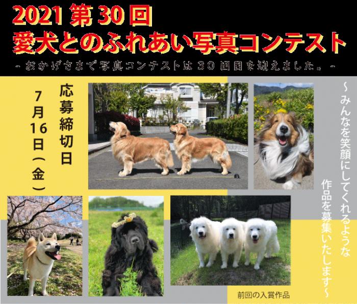 2021 愛犬とのふれあい写真コンテスト