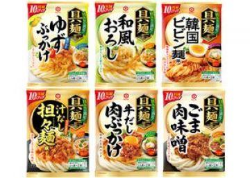 aaaaレタスクラブニュース 「キッコーマン 具麺(ぐーめん)」シリーズ全6種×2 計12袋セット プレゼント