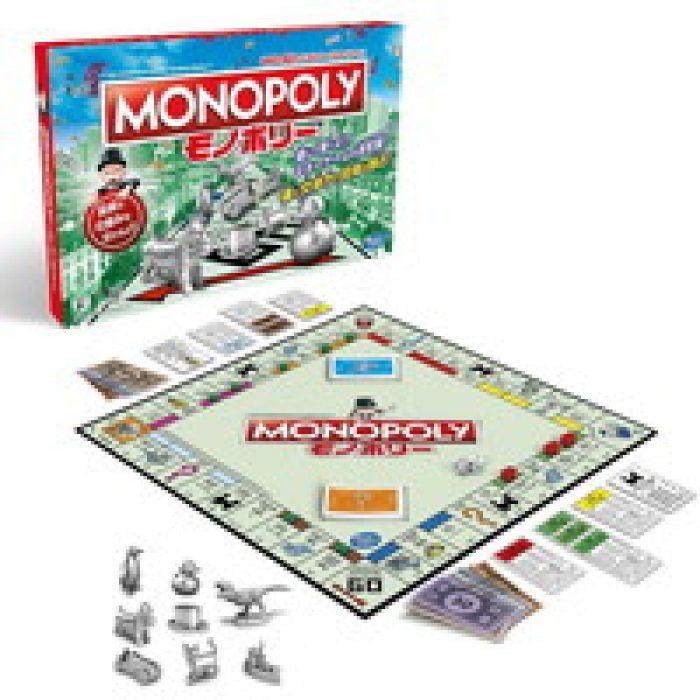 サイコロを振って土地を買い占めよう ハズブロ ボードゲーム モノポリー クラシック C1009 正規品