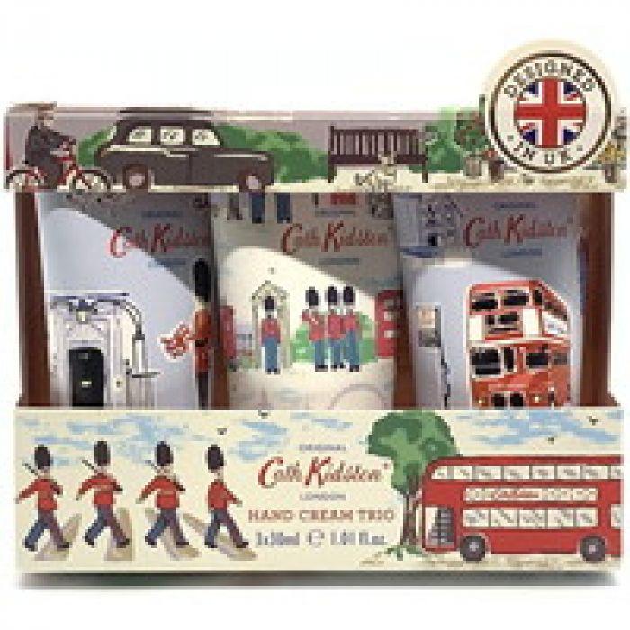3種類の香りを楽しめる キャス・キッドソン(Cath Kidston) キャスキッドソン ハンドクリームトリオ ロンドン 「正規輸入品」 1ブロッサム2マンダリン
