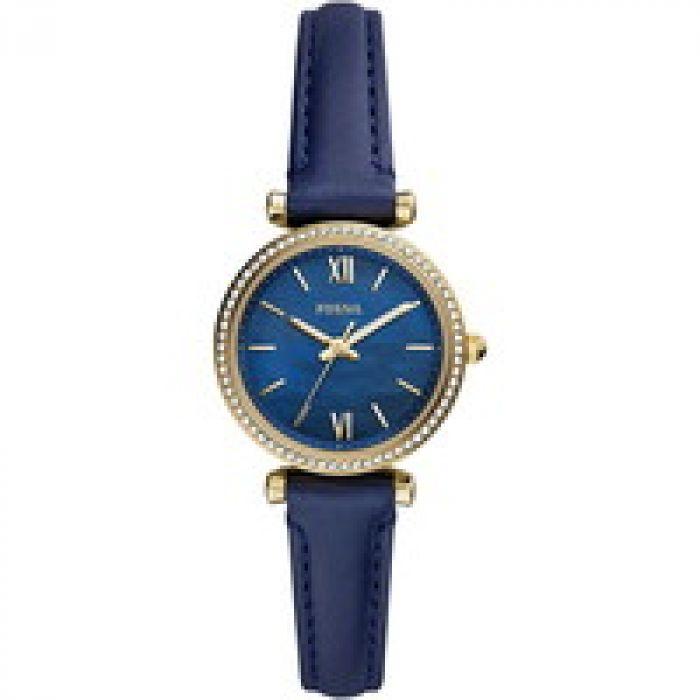 新しくって、どこか懐かしい [Fossil] 腕時計 CARLIE MINI ES5017 レディース ブルー