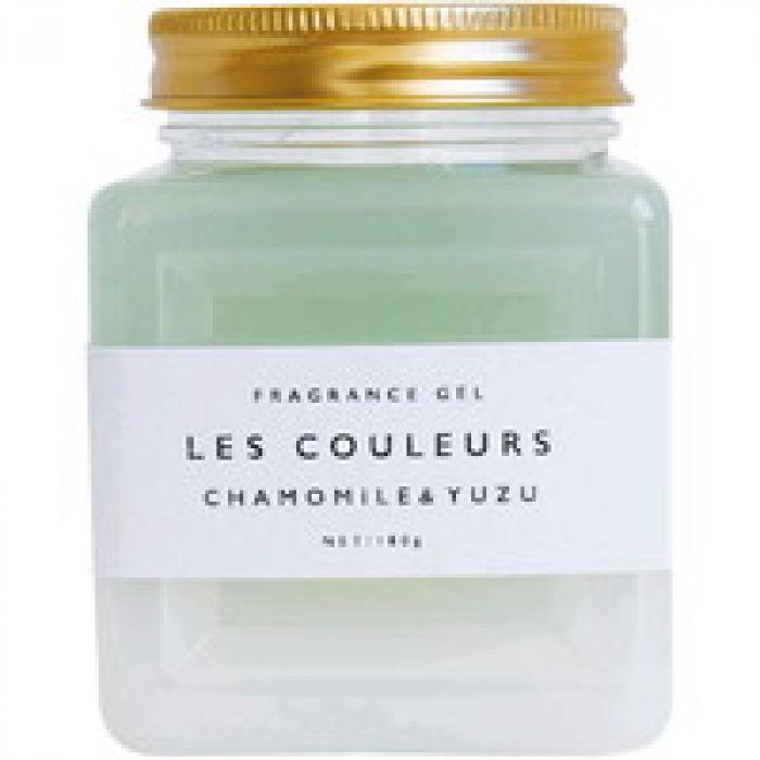 すっきりと心安らぐ柑橘系の香り LES COULEURS~レクルール~ フレグランスジェル カモミール&ユズ