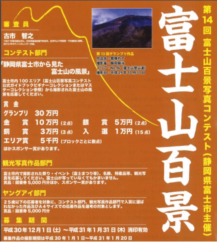 富士山百景写真コンテスト