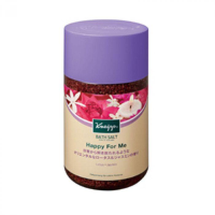 豊かな香りに包まれて、贅沢なリラックスタイムを クナイプ バスソルト ハッピーフォーミー ロータス&ジャスミンの香り