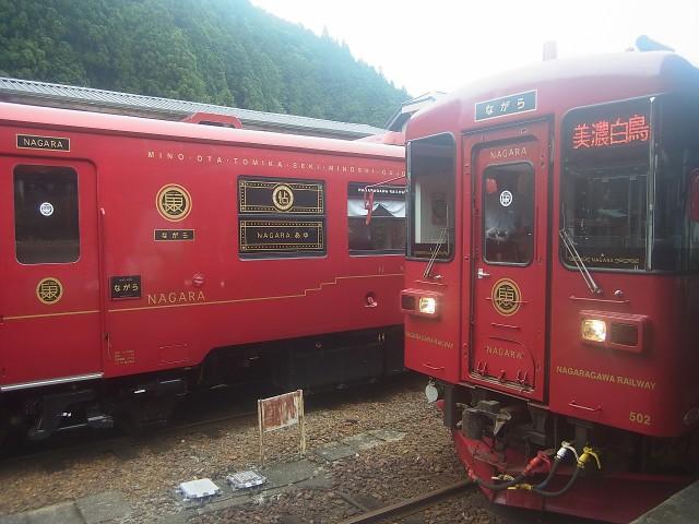 毎年恒例の白山へ。 長良川鉄道に乗って、岐阜・石徹白からのアプローチです。