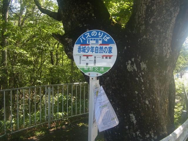 今回は、赤城山。 赤城少年自然の家バス停からスタート。