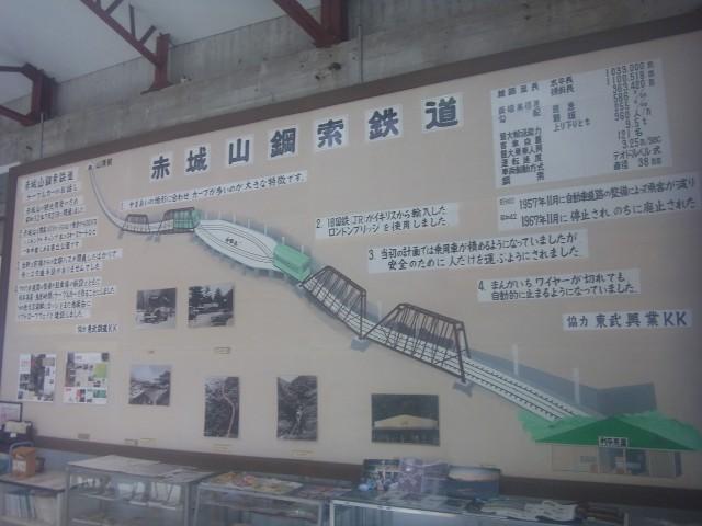 その昔、赤城にもケーブルカーが通っていたんですね。 その山頂駅を改装して、レストランを運営しているのです。