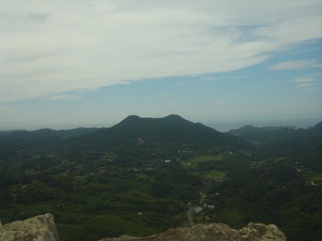 向こうに見えるのは、さっきまでいた富山です。