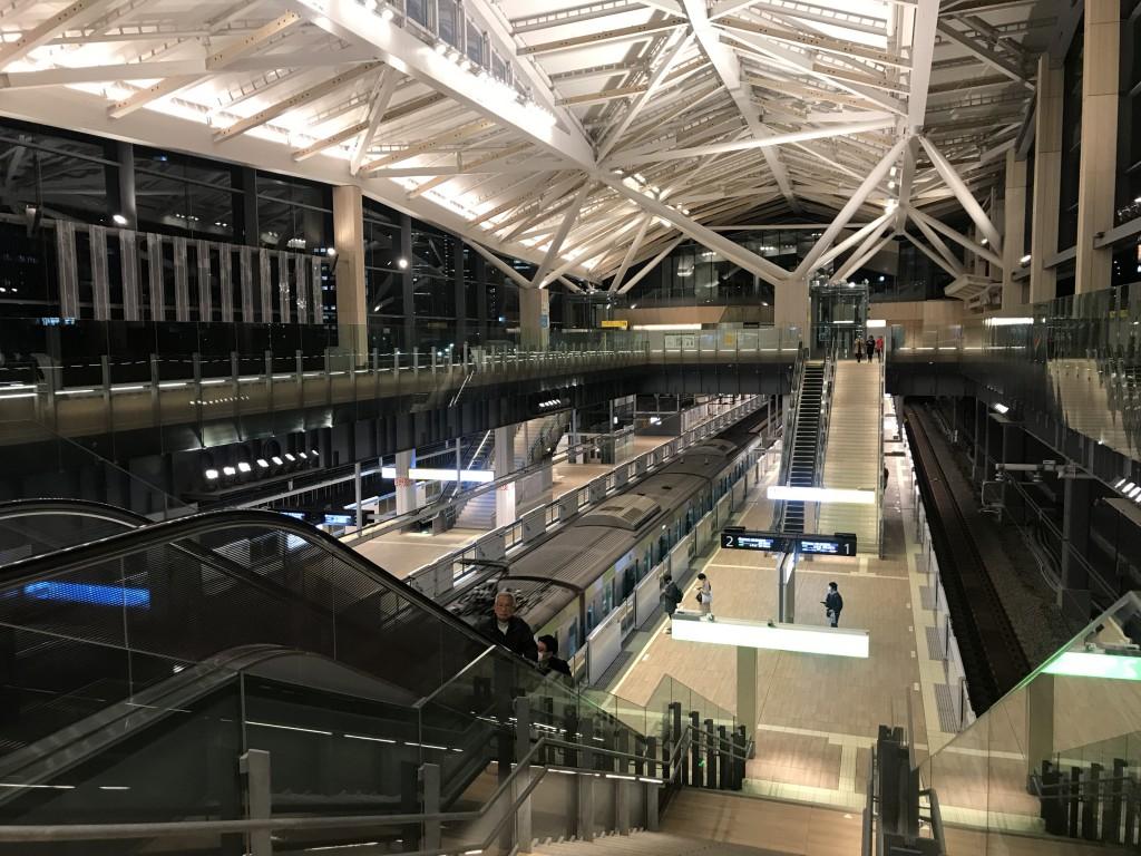 山手線の新駅「高輪ゲートウェイ」