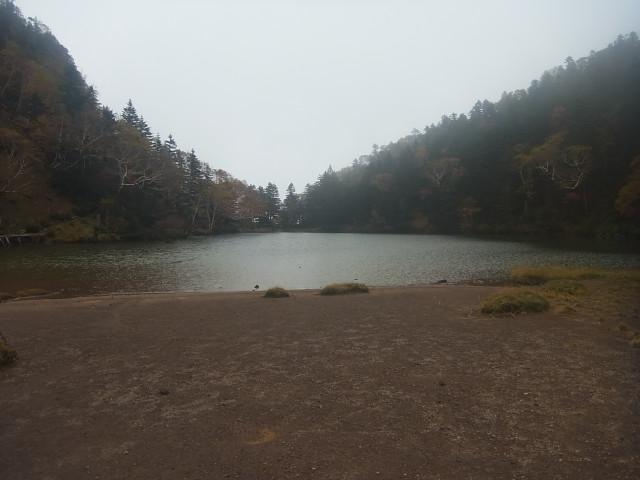 これは弥陀ケ池ですね。 開けたいい場所です。