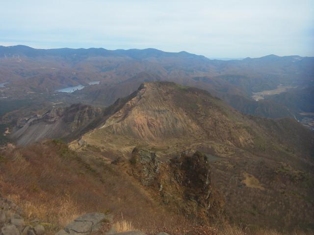 山頂からの眺めはよいものです。