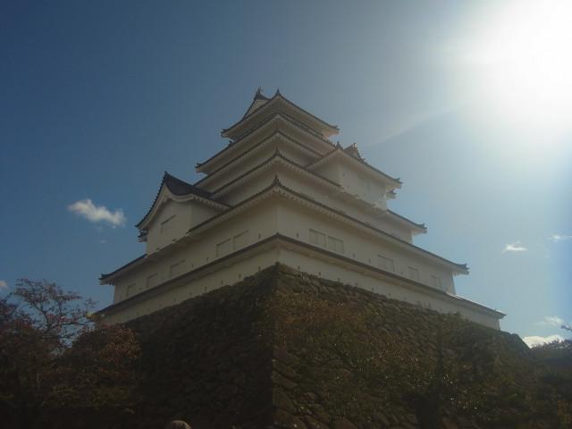 もちろん鶴ヶ城も。