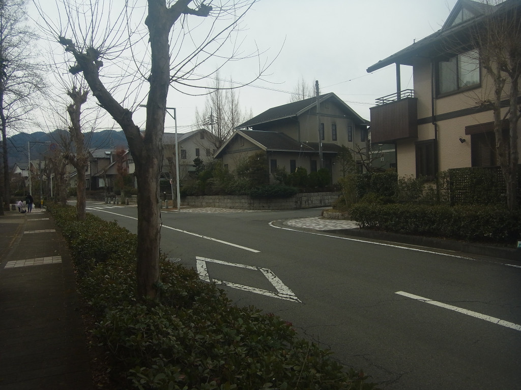 コモアしおつの街中を抜けて、次の山に向かいます。
