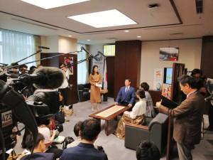 スポーツ庁長官室